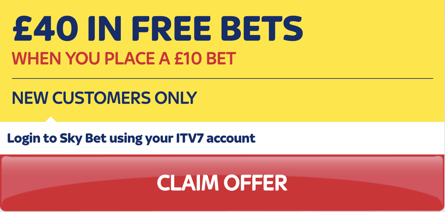 Bet £10, Get £40 in Free Bets