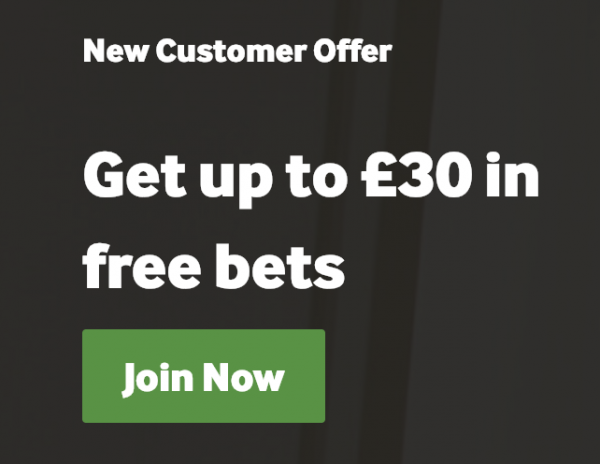 Betway £30 New Customer Offer